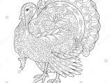 Easy Thanksgiving Drawings Coloring Page Of Turkey for Thanksgiving Day Greeting Card