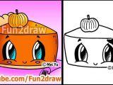 Easy Thanksgiving Drawings How to Draw Thanksgiving Things Cute Pumpkin Pie Fun2dra
