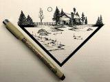 Easy to Draw Bridge Drawing Dailydrawings Illustration Ink Inkdrawing