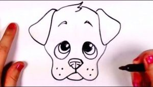 Easy to Draw Cartoon Dog How to Draw A Cute Puppy Face Step by Step Cc Youtube
