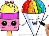 Easy to Draw Ice Cream How to Draw An Ice Cream Cute Easy Como Dibujar Un