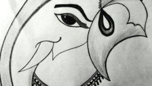 Easy Vinayaka Drawings Ganesh Ji Sketch Pencil Sketches In 2019 Sketches Art Sketches
