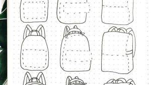 Easy Wallet Drawing Schritt Fur Schritt Bullet Journal Doodle Tutorials Vol 1