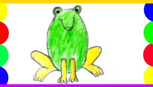 Easy Way to Draw A Frog Pin by Eakta On Drawings Art Frog Drawing Drawing