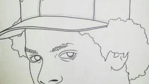 Eazy E Cartoon Drawing Eazy E Drawing Bonitanapple Art Vibes Pinterest Drawings