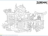 Engineering Drawing Cartoons Ausmalbild Ninjago
