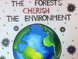 Environment Day Drawing Ideas Art Craft Ideas and Bulletin Boards for Elementary Schools