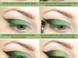 Eyeshadow Drawing Green Eyeshadow Tutorial Another Poison Ivy Idea Eyeshadows Art