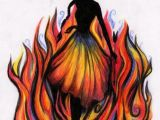 Fire Girl Drawing Girl On Fire so Cool Hunger Games Fire Drawing Fire Art
