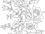 Flower Motifs Drawing Flowers Embroidery Line Drawings and Patterns