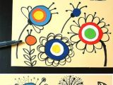 Flowers Drawing Circle How to Draw Flowers Basteln Mit Kindern Art Art Projects Und