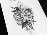 Flowers Geometric Drawing Pin by Haylee Johnson On Tattoos Tattoos Tattoo Designs Tattoo