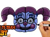 Fnaf 2 Drawing Easy How to Draw Baby Fnaf Sister Location Youtube