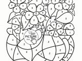 Free Line Drawings Of Roses Spring Time Coloring Pages Awesome New Cool Vases Flower Vase