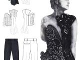 G Drawing Design Fashion Sketchbook Embroidered Bodice Design Fashion Drawings