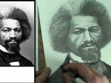 George W Bush Drawing Easy How to Draw Frederick Douglass Step by Step Merrill Kazanjian Art