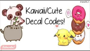 Girl Drawing Roblox Decal Kawaii Cute Decal Codes Roblox Youtube