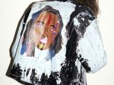 Girl Jeans Drawing Outsapop Trashion Diy Fashion by Outi Pyy Bad ass Painted