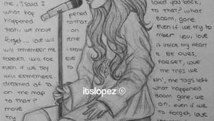 Girl Singing Drawing Pin by Latha Packirisamy On Arts Art Sketches Pencil Art