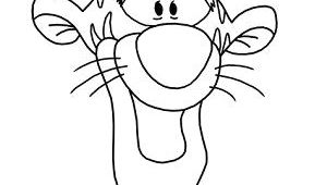 Goofy Drawing Easy Draw Tigger Step 16 Winnie the Pooh Drawing How to Draw