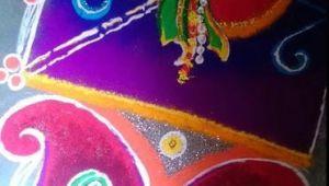 Gudi Padwa Drawing Easy Rangoli Designs for Gudi Padwa Rangoli Designs Rangoli