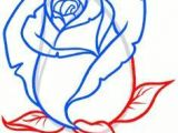 Guided Drawing Of A Rose How to Draw A Rose Bud Rose Bud Step by Step Flowers Pop Culture