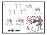 Halloween Drawing Ideas Easy How to Draw A Haunted House Google Search Story Time