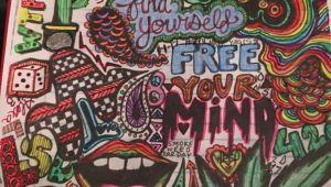 Hippie Drawing Ideas Trippy Shitzzz In 2020 Trippy Drawings Hippie Drawing