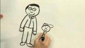 How to Draw A Cartoon Man Easy Easy Cartoon Drawing How to Draw A Cartoon Man Youtube