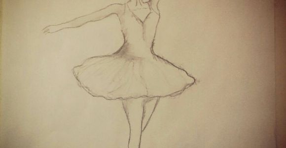 How to Draw A Dancer Easy Ballerina Easy Pencil Drawing Easy Drawings Drawings