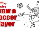 How to Draw A Football Easy 4 Ways to Draw soccer Players Wikihow