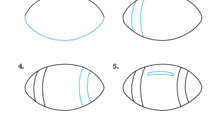 How to Draw A Football Helmet Easy How to Draw A Football Drawing Tutorials for Kids Sports