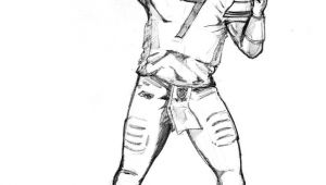 How to Draw A Football Player Easy How to Draw Football Players Football Player Coloring