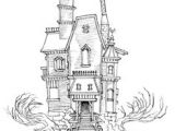 How to Draw A Haunted House Easy 12 Best Haunted Houses Images Haunted House Drawing