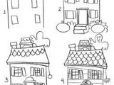 How to Draw A Haunted House Easy A Cute Haunted House for Children In 2019 Halloween