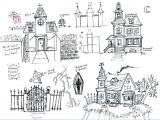 How to Draw A Haunted House Easy Haunted House Drawing at Paintingvalley Com Explore