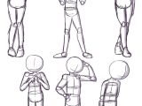 How to Draw A Person Cartoon Easy Shy Poses Here is A Quick Reference Page for Shy or Nervous
