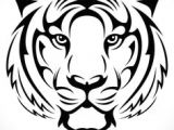 How to Draw A Tiger Face Easy 7 Best Tiger Vector Images Tiger Drawing Tiger Tattoo