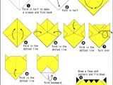 How to Draw A Tiger Face Easy origami Tiger Face soepic