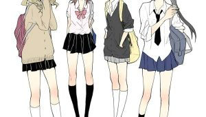 How to Draw An Anime School Uniform Uniform Anime Outfits Manga School Anime Art Girl