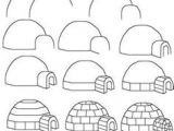 How to Draw An Igloo Easy 29 Best to Draw Images Drawings Easy Drawings Drawing