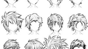 How to Draw Anime Hair Male Easy 20 Male Hairstyles by Lazycatsleepsdaily On Deviantart