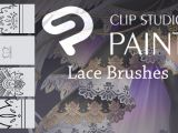 How to Draw Anime Lace Clip Studio Lace Brushes by Deamond 89 On Deviantart