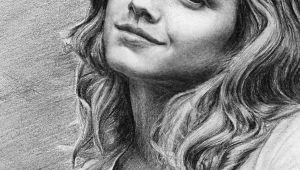 How to Draw Emma Watson Step by Step Easy Emma Watson Aka Hermione Granger Artwork by Pencilplane