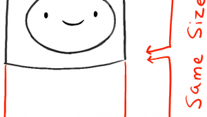 How to Draw Finn Easy How to Draw Finn From Adventure Time with Simple Step by