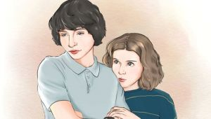 How to Draw Millie Bobby Brown Easy Stranger Things Mike and Eleven by Alwayssketch Finn