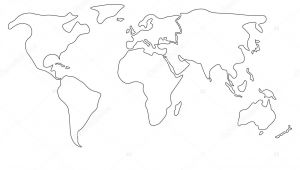 How to Draw the Continents Easy Easy Draw Map Of the World Map Easy to Draw Easy World Maps