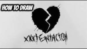 How to Draw Xxxtentacion Easy How to Draw Xxxtentacion Logo Easy