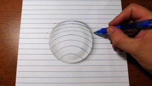 How to Make 3d Drawings On Paper Easy How to Draw Bubble On Paper 3d Art Trick Contour and Line