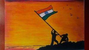 Independence Day Drawing Easy Step by Step Clean India Drawing Swatch Bharat Drawing Step by Step by
